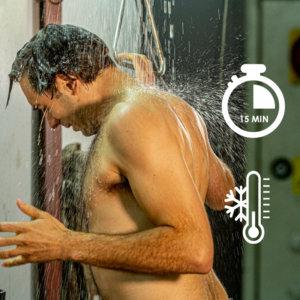 Supprime le risque d'hypothermie