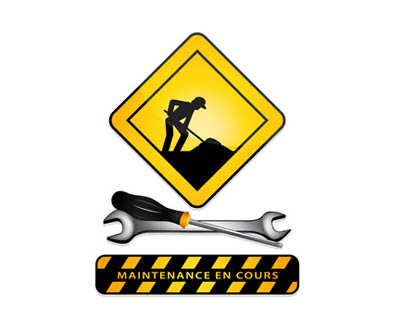 Panneau maintenance