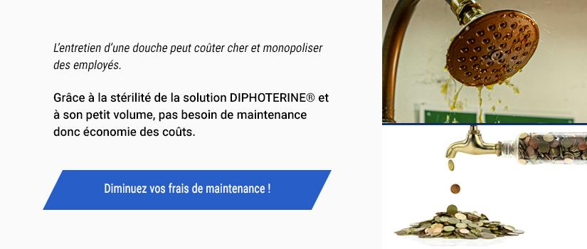 Diminue les coûts de maintenance et d'installation