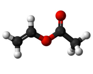 Molecule of Vinyl Acetate