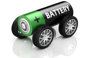 Batterien elektrischer Autos