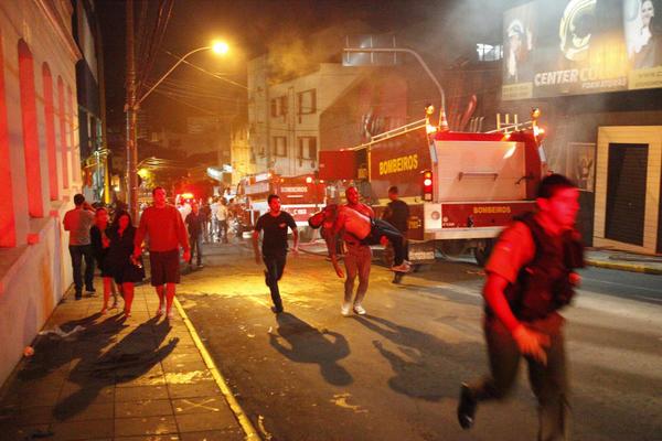 Nightclub Feuer Brazilien