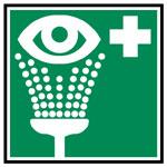 Augen Duschen Schild