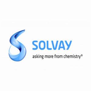 Logo de la sociedad Solvay